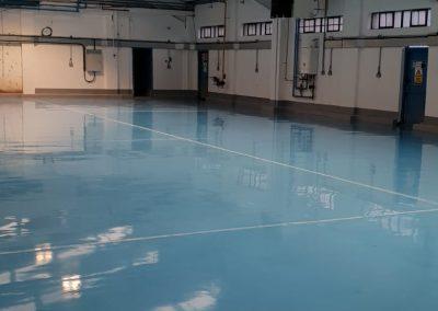 warehouse resin flooring in Scotland